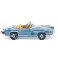 Wiking - Mercedes-Benz 300 SL Roadster, hellblau