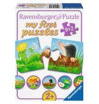 Ravensburger Puzzle - my first Puzzle - Tiere im Garten, 9x2 Teile