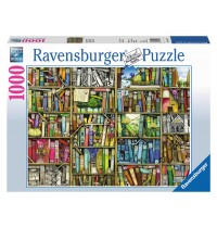 Ravensburger Puzzle - Magisches Bücherregal, 1000 Teile