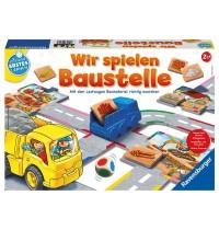 Ravensburger Spiel - Wir spielen Baustelle