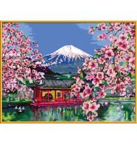 Ravensburger Spiel Malen Nach Zahlen Premium Japanische Kirschblüte