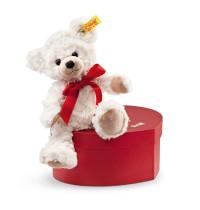 Steiff - Teddybären - Teddybären für Kinder - Sweetheart Teddybär in Herzbox, creme, 22cm