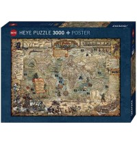 Heye - Standardpuzzle 3000 Teile - Rajko Zigic, World