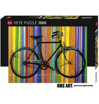 Heye - Standardpuzzle 1000 Teile - Bike Art, Freedom Deluxe