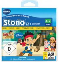 VTech - Storio Lernspiel - Jake und die Nimmerland Piraten