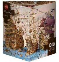 Heye - Dreieckspuzzle 1000 Teile - Ruyer, Corsair