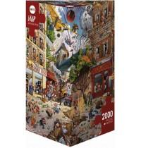 Heye - Dreieckspuzzle 2000 Teile - Loup, Apocalypse