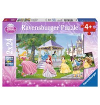 Ravensburger Puzzle - Disney™ Princess - Zauberhafte Prinzessinnen, 2x24 Teile