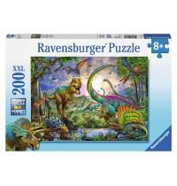 Ravensburger Puzzle - Im Reich der Giganten, 200 XXL-Teile