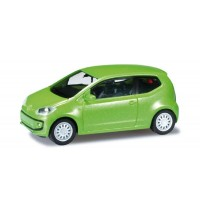 Herpa - VW UP! 3-türig, vipergreen metallic