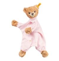Steiff - Babywelt - Spielzeug - Schmusetücher - Schlaf-gut-Bär Schmusetuch, rosa, 30cm