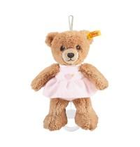 Steiff - Babywelt - Spielzeug - Spieluhren - Schlaf-gut-Bär Spieluhr, rosa, 20cm
