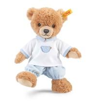 Steiff - Teddybären - Teddybären für Babys - Schlaf-gut-Bär, blau, 25cm