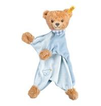 Steiff - Babywelt - Spielzeug - Schmusetücher - Schlaf-gut-Bär Schmusetuch, blau, 30cm