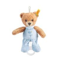 Steiff - Babywelt - Spielzeug - Spieluhren - Schlaf-gut-Bär Spieluhr, blau, 20cm