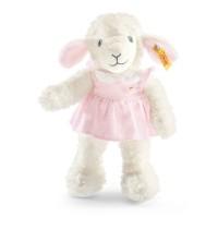 Steiff - Kuscheltiere für Babys - Träum-süß-Lamm, rosa, 28cm