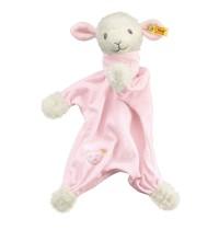 Steiff - Babywelt - Spielzeug - Schmusetücher - Träum-süß-Lamm Schmusetuch, rosa, 30cm