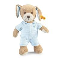 Steiff - Kuscheltiere für Babys - Gute-Nacht-Hund, blau, 28cm