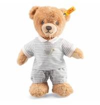 Steiff - Kuscheltiere für Babys - Schlaf-gut-Bär, grau, 25cm
