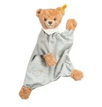 Steiff - Babywelt - Spielzeug - Schmusetücher - Schlaf-gut-Bär Schmusetuch, grau, 30cm