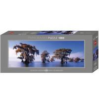 Heye - Panoramapuzzle 1000 Teile - Edition Alexander von Humboldt - Bald Cypresses
