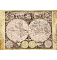 Schmidt Spiele - Puzzle - Historische Weltkarte, 2000 Teile
