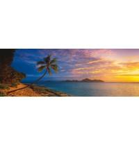 Schmidt Spiele - Puzzle - Tokoriki Island Sunset – Mamanuca Islands, Fiji, 1000 Teile