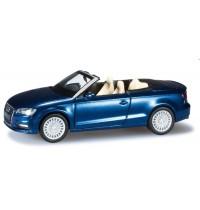 Herpa - Audi A3 Cabrio, scubablau perleffekt