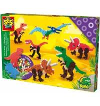 SES Creative - Bügelperlenset Dinosaurier