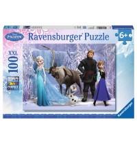 Ravensburger Puzzle - Im Reich der Schneekönigin, 100 XXL-Teile