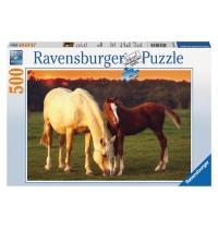 Ravensburger Puzzle - Schöne Pferde, 500 Teile