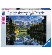 Ravensburger Puzzle - Eibsee mit Wettersteingebirge und Zugspitze, 1000 Teile