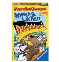 Ravensburger Spiel - Mitbringspiel MauseschlauundBärenstark Wissen und Lachen