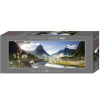 Heye - Panoramapuzzle 1000 Teile - Edition Alexander von Humboldt - Milford Sound