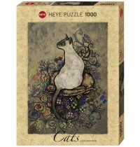 Heye - Standardpuzzle 1000 Teile - Cats - Siamese, Jane Crowther
