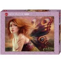Heye - Standardpuzzle 1000 Teile - Butterfly Wings, Mélanie Delon