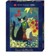 Heye - Standardpuzzle 1000 Teile - Flowerbed, Rosina Wachtmeister