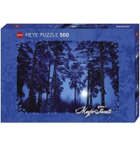 Heye - Standardpuzzle 500 Teile - Magic Forests - Full Moon