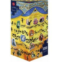 Heye - Dreieckspuzzle 2000 Teile - Cat Symphony, Sven Hartmann