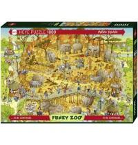 Heye - Standardpuzzle 1000 Teile - Funky Zoo, African Habitat