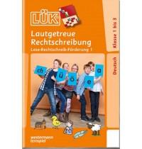 LÜK - Lautgetreue Rechtschreibung 1.-3. Klasse