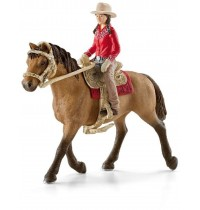 Schleich - World of Nature - Farm Life - Reitsets -  Westernreiterin