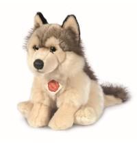 Teddy-Hermann - Wolf sitzend, 29 cm