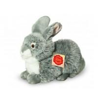 Teddy-Hermann - Hase sitzend grau, 25 cm