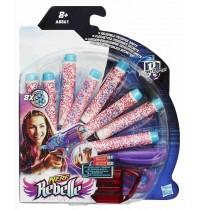 Hasbro - Nerf Rebelle Geheimnis Darts und Decoder