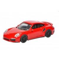 Schuco - Edition 1:64 - Porsche 911 Turbo (991), indischrot