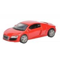 Schuco - Edition 1:64 - Audi R8 Coupé, rot