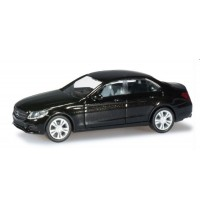 Herpa - Mercedes-Benz C-Klasse Limousine Avantgarde, obsidianschwarz