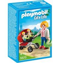Playmobil® - City Life - In der KiTa: Zwillingskinderwagen