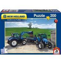 Schmidt Spiele - Puzzle - New Holland T6AC/T5EC, 200 Teile